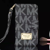 MK Michael Kors Fashion New Letter Print Women Men Personality Protective Cover Phone Case