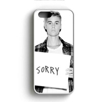 Justin Bieber Sorry Cover iPhone 5 Case iPhone 5s Case iPhone 5c Case