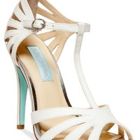 Blue by Betsey Johnson Tee Evening Sandals | macys.com