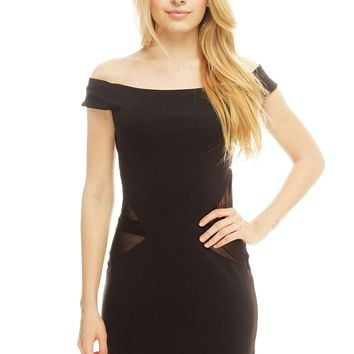 Nina Bodycon - Black