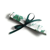 Crochet Hook Case Waverly Ivy Fabric