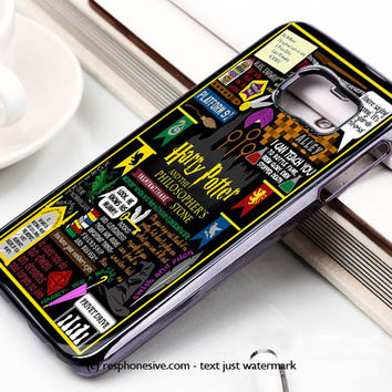 Harry Potter Cartoon Samsung Galaxy S6 and S6 Edge Case