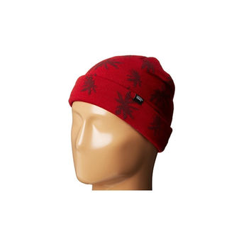 Vans Mens Palm Beanie Redrum Palm Leaf