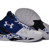 UNDER ARMOUR CURRY TWO - Electric Blue/Midnight Navy/White (Free International)