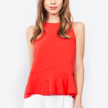 Ruby Peplum Top