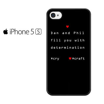 Dan And Phil Quote Iphone 5 Iphone 5S Iphone SE Case
