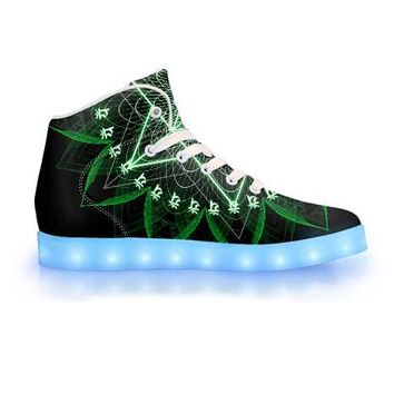 Anahata by Sam and Cate Farrand - APP Controlled High Top LED Shoe