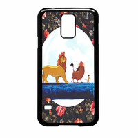The Lion King Disney Floral Samsung Galaxy S5 Case