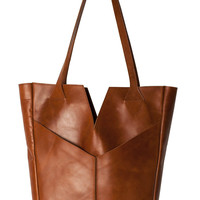 Raven and Lily Azeb Brown Tote