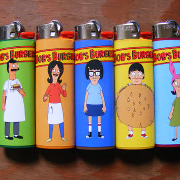 Bob's Burgers Lighters Belcher Family