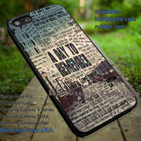 Band A Day to Remember Lyric Collage iPhone 6s 6 6s+ 5c 5s Cases Samsung Galaxy s5 s6 Edge+ NOTE 5 4 3 #music #adtr dt
