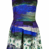 **PHOTO PRINT DRESS BY WAL G
