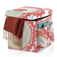 Anthology™ Folding Storage Ottoman in Bungalow