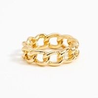 Chained Ring - Gold