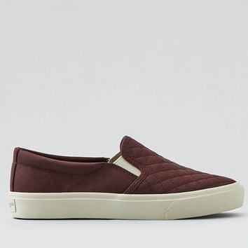 AEO Slip-On Sneaker, Burgundy