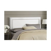 Doleman Nail Buttoned Upholstered Panel Headboard