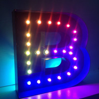 LED Marquee Letters Light Up Lamp Night Light