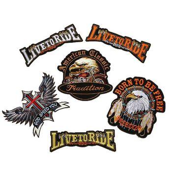 Classic Biker Patches