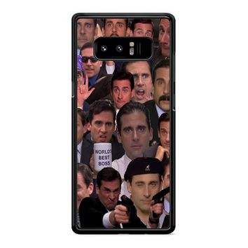Michael Scott Collage 1 Samsung Galaxy Note 8 Case