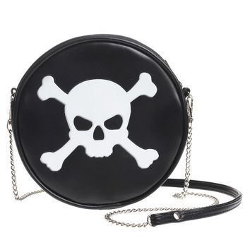 Alchemy of England Skull and Cross Bones Handbag