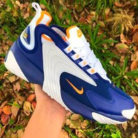 Free shipping-Nike ZOOM 2K casual sports vintage old shoes