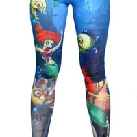 Women's Zombie Ariel Leggings