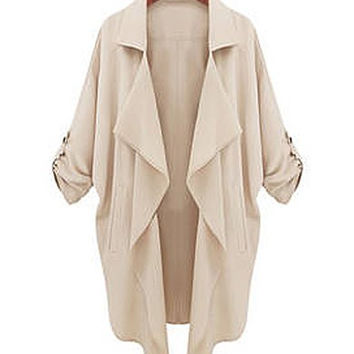 Lightweight Cream Colored Jacket