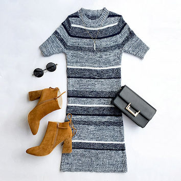 Cupshe Chic Freely Knitting Bodycon Dress