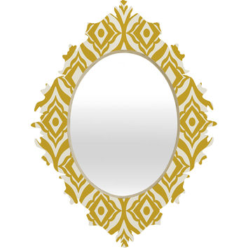 Heather Dutton Trevino Yellow Baroque Mirror