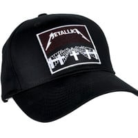 Metallica Hat Metal Music Baseball Cap Master of Puppets