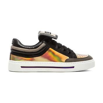 Marc by Marc Jacobs Sneaker in Metallic Silver