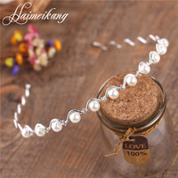 Headbands for Women Wedding Crystal Pearl Head Band 2016 Trendy Wedding Bridal Hair Ornaments Festival Gifts Party Accessories