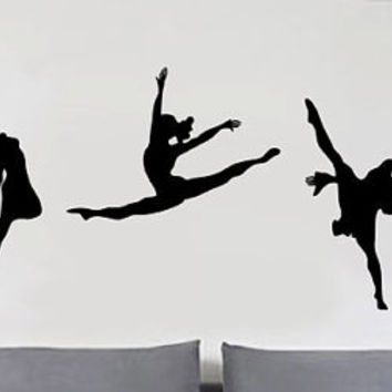 Ballet Dancing - uBer Decals Wall Decal Vinyl Decor Art Sticker Removable Mural Modern A319
