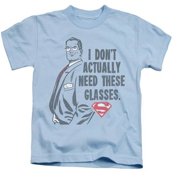 Superman - Don't Need Glasses Short Sleeve Juvenile 18/1