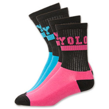 Women's Sof Sole Yolo Crew Socks