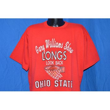 80s Ohio State Basketball Gary Williams Show t-shirt Extra-Extra-Large