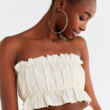 UO Ila Swiss Dot Tube Top | Urban Outfitters