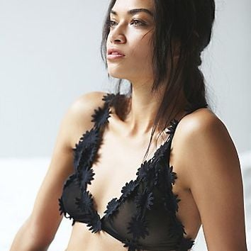 SKIVVIES by For Love & Lemons Womens Secret Garden Triangle