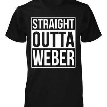 Straight Outta Weber County. Cool Gift - Unisex Tshirt