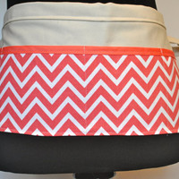 Chevron Utility Belt/Vendor Apron/Chevron Apron Ready to ship