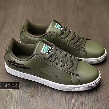 PUMA x TRAPSTAR Clyde Fashion Old Skool Sneakers Sport Shoes
