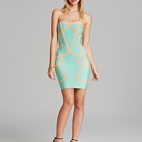 WOW Couture Dress - Strapless Banded