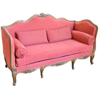 French Late 19th Century Louis XV Style Sofa in Beech Wood