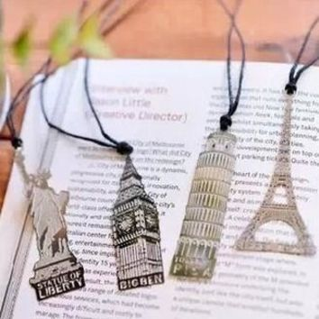 Metal Hollow Out Vintage Bookmark [28269838362]