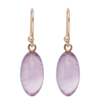 Ted Muehling Amethyst Berry Earrings