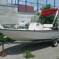 1998 BOSTON WHALER DAUNTLESS 15' W/ TRAILER INCLUDED! LIKE NEW!