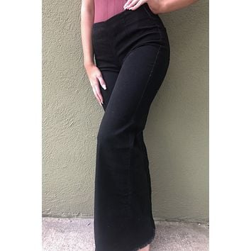 Free People Flares - Black