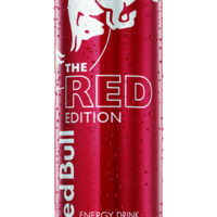 Red Bull Red Edition Energy Drink 12 oz Cans - Case of 24