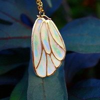BUTTERFLY Wing GLOW in the DARK  Gold Color by Papillon9 on Etsy