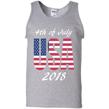 4th of July Tanktop, USA Tank top, Mens Tanktop